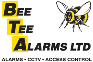 Bee Tee Alarms logo