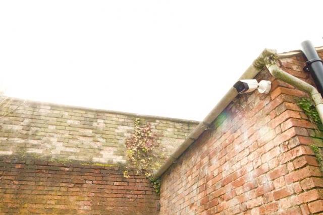 Old building CCTV camera