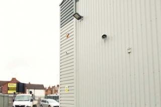 Burglar alarm and CCTV security system
