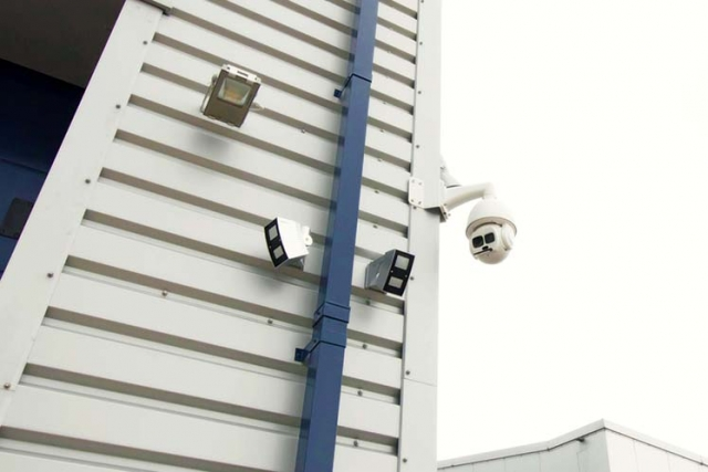 Ware house CCTV system