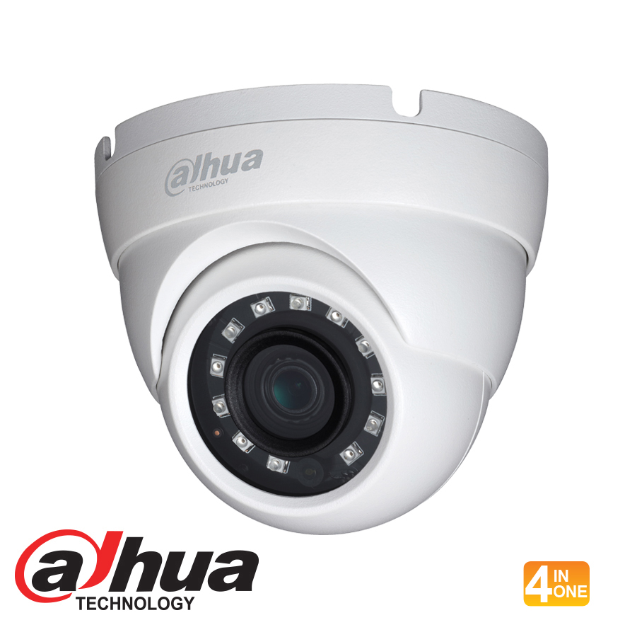 DAHUA HDCVI 4MP MINI IR EYEBALL DOME - 3.6MM LENS