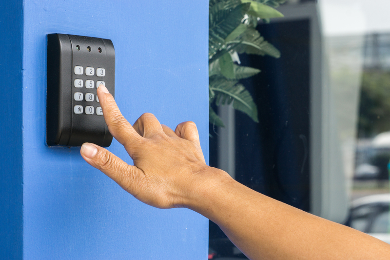 Access Control System In Use